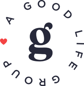 A Good Life Group Logo - Red